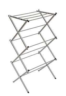 STORAGE MANIAC 3-tier Folding Anti-Rust Compact Steel Clothe