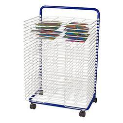 "Sprogs Art Drying Rack, 23 3/4"" W x 17 1/2"" D x 38"" H, Blue/"
