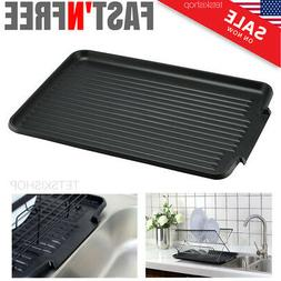 Dish Rack Drip Board Kitchen Sink Plastic Tray Drain Drainer
