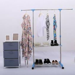 Adjustable Clothes Shelves Closet Storage Stytem & Wardrobe