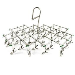 AideTek Laundry Clothesline Hanging Rack for Drying Clothing