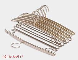 Drying Racks Pack of 10 Aluminum Alloy Hanger Hangers Clothe