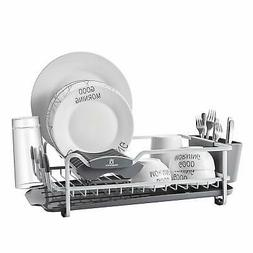Aluminum Dish Rack with Expandable Over the Sink, In Sink Di
