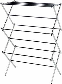 amazonbasics foldable drying rack for energy saving