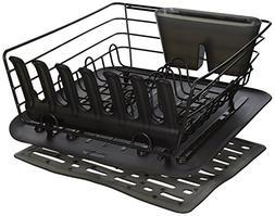 Rubbermaid 3-Piece Antimicrobial Sink Dish Drainer Set, Cash