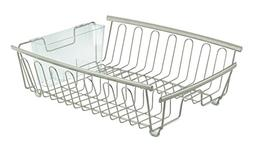 InterDesign Axis Kitchen Dish Drainer Rack for Drying Glasse