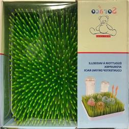 Soraco Baby Bottle Drying Rack Countertop Green