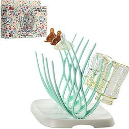 ANZYDEAL Baby Bottle Drying Rack Baby Feeding Bottles Cleani