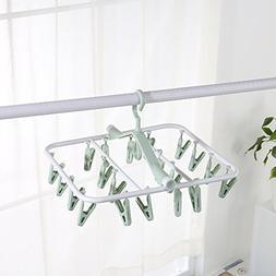 Baby drying rack,Hanging socks hanger Multi-function clip Ba