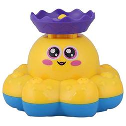 Baby Shower Toys 2 Colors Electric Octopus Bathing Shower To