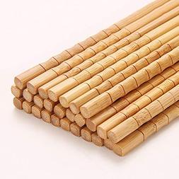 5 Pairs Bamboo Joint Chopsticks 24Cm Chinese Chopsticks Kitc