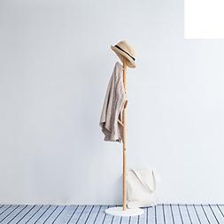 Bamboo wooden clothes rack,European simple Bamboo coat rack