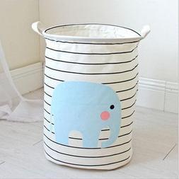 BranXin - Large Laundry Basket Foldable Baby Toys Storage Ba