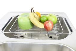 "Walter Sinks Sink 13"" Basket Dish Drying Rack Double Single"