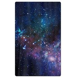 FSKDOM Outer Space Galaxy Stary Cotton Easy Care Maximum Sof