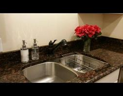 Best Small Dish Drainer Rack Over Sink On Counter In Sink Dr