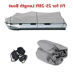Comcastle Boat Cover Durable 25-28ft Fabric Trailerable Pont