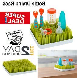 Boon Grass Countertop Baby Bottle Cup Drying Rack Green BPA