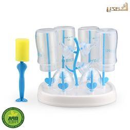 Bottle drying rack,easy to clean baby bottles dryer,heal
