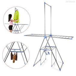 C3D8 Multipurpose Household Essentials Folding Gullwing Dryi