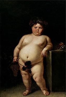 'Carreno De Miranda Juan The Monster Nude Or Bacchus Ca. 168