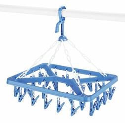 """Clip And Drip Hanger - Hanging Drying Rack 26 Clips Home """" K"""