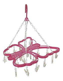 Clip Drip Drying Hanger - 26 Clips Butterfly Design
