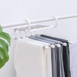 Closet Organizer Trouser Pants Ties Scarf Shawl Rack Hangers