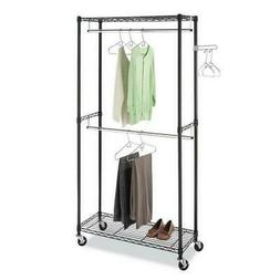 Closet Storage Holder Durable Rack Home-saving Portable Clot