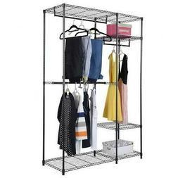 Closet System Storage Organizer Garment Rack Clothes Hanger