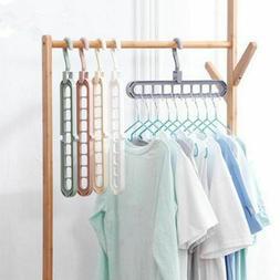 Clothes Hanger Clothe Hangers Pants Space Organizer Magic Dr
