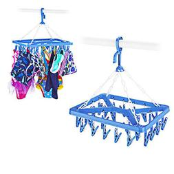 clothes clip drip hanger portable organizer storage
