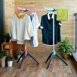 Clothes Drying Rack Laundry Dryer Folding Indoor Hanger Port