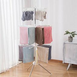Clothes Drying Rack Tower, Clothes Dryer Large,- 3 Tier -Sta