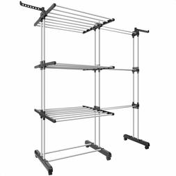 Tomons Clothes Drying Rack Tower, Clothes Dryer Large, Stain