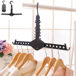 Clothes Hanger Drying Rack Space Saving Foldable Expand Clos
