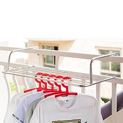 Vdomus Cloths Drying Rack Laundry Hanger Over Wall and Windo