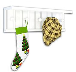 Ymj Coat Rack Garment Hanger Creative On The Wall Solid Wood