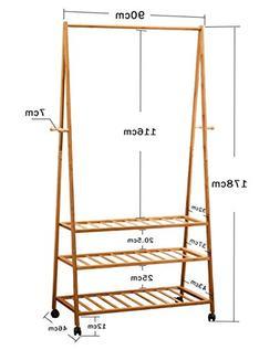 AIDELAI Coat Rack Multi-functional Coat Rack, Bedroom Floor