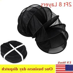 Collapsible Dry Net Horticulture 2ft 8Layer Hydroponic Herba