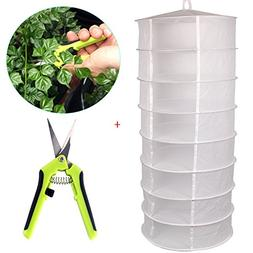 Casolly Collapsible Hanging Drying Net for Hydroponic Dryer