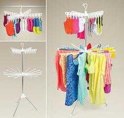Collapsible Indoor Tripod-Style Clothes Dryer 2 Tier Garment