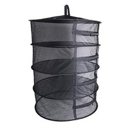 Dabixx Collapsible 4 Layer Mesh Dry Net Hanging Herbal Bud P