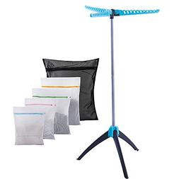 iEllevie Collapsible Portable Indoor Tripod Clothes Drying R