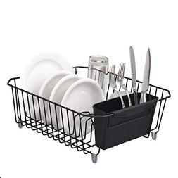 VCCUCINE Contemporary Kitchen Metal Wire Dish Drying Rack, D