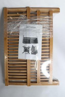 Core Bamboo Dish Rack with Utensil Holder Natural