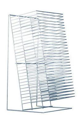 Sax Single-Slide Table Top Drying Rack, 30 Shelves, 8 x 12 I
