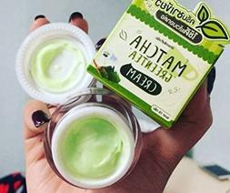 3 x 10 g Matcha Green Tea Cream Face Skin Care Lightening Be