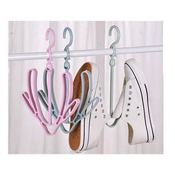 Cozytek Creative Shoes Hanger Airer Shoe Anti-skid Shoe Dryi