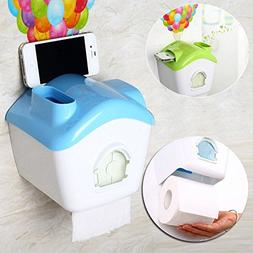 Creative Toilet Roll Paper Holder Paper Box With Mobile Phon